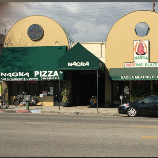 Nagila Kosher Pizza & Salads, Los Angeles, CA logo