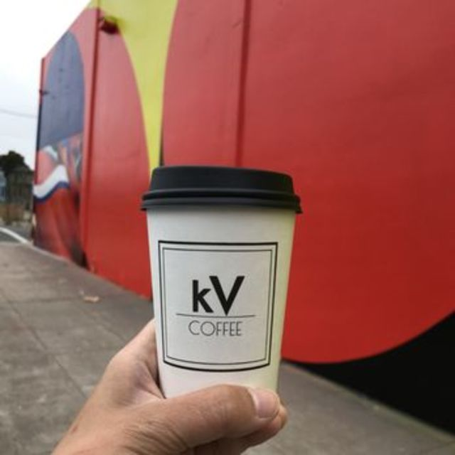 kv coffee inc, Oakland, CA logo