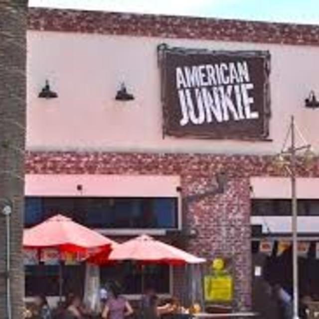 American Junkie Restaurant and Bar, Hermosa Beach, CA logo
