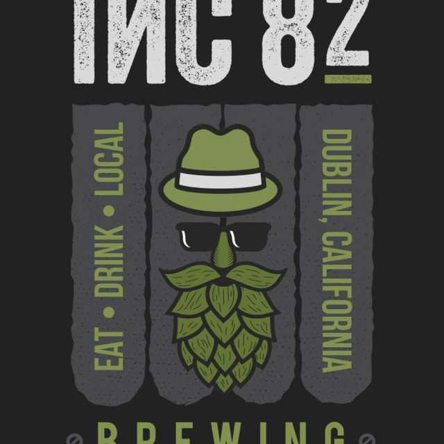 INC 82 Brewing, Dublin, CA logo