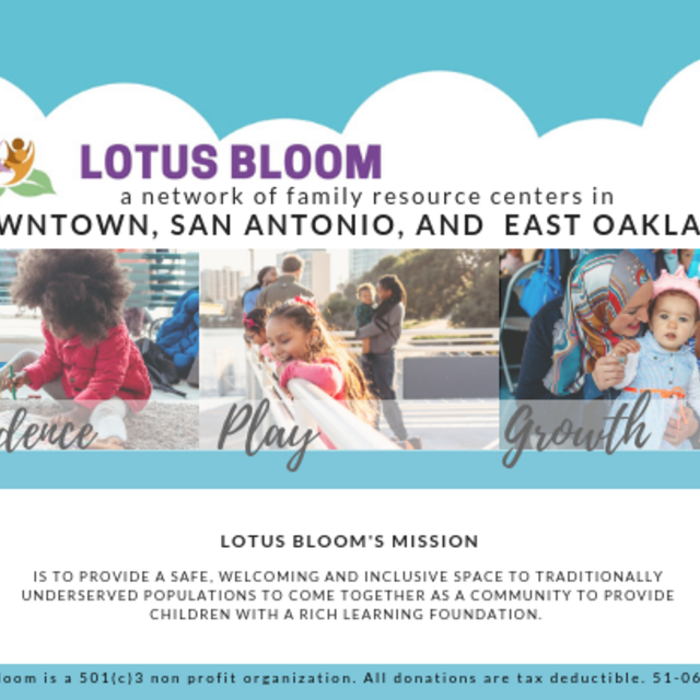 Lotus Bloom, Oakland, CA logo