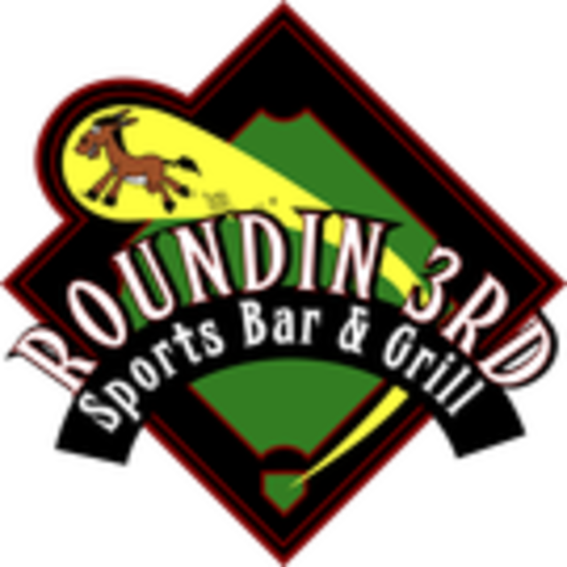 Roundin' 3rd Sports Bar and Grill, Long Beach, CA logo