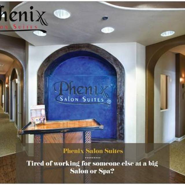 Phenix Salon Suites, Los Angeles, CA logo