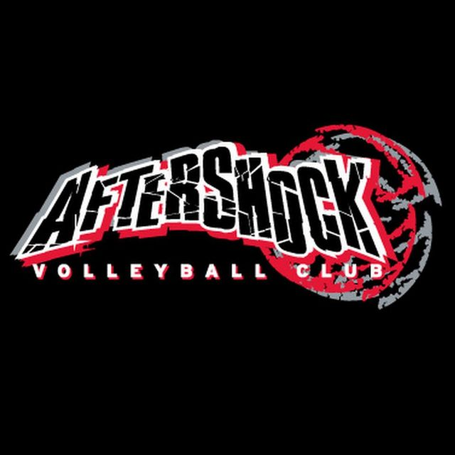 Aftershock Volleyball Club, Santa Rosa, CA logo