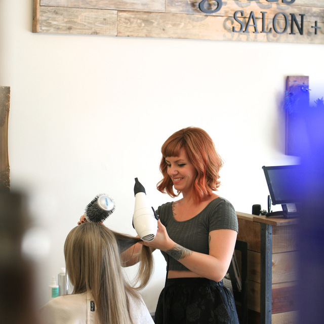 Salon Six Degrees, Manhattan Beach, CA logo