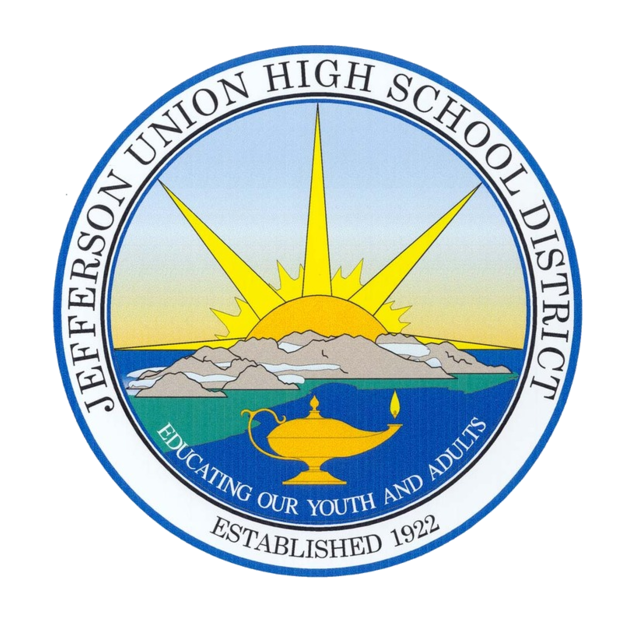 Jefferson Union High School District, Daly City, CA logo