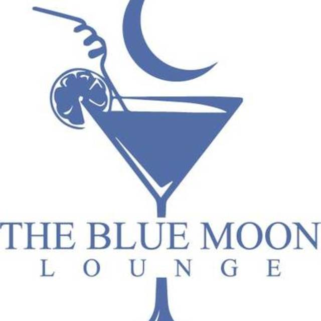 The Blue Moon Lounge, Montrose, CA logo