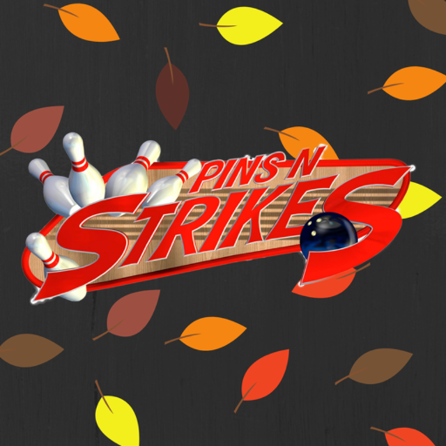 Pins N Strikes, Elk Grove, CA logo