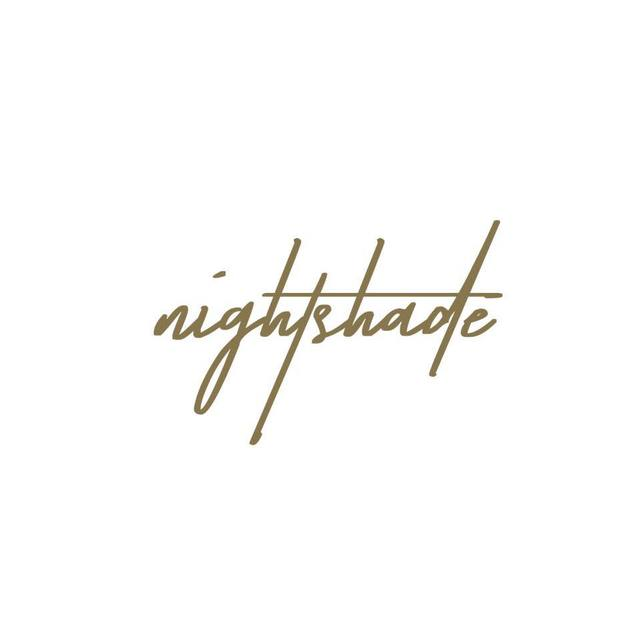 Nightshade, Los Angeles, CA logo