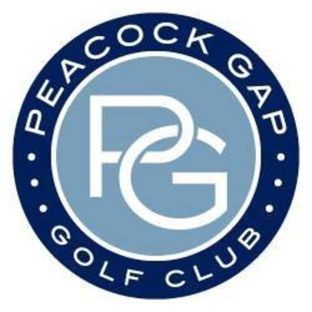 Peacock Gap Golf Club, San Rafael, CA logo