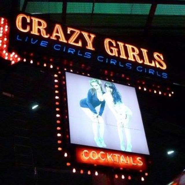 Crazy Girls, Los Angeles, CA logo