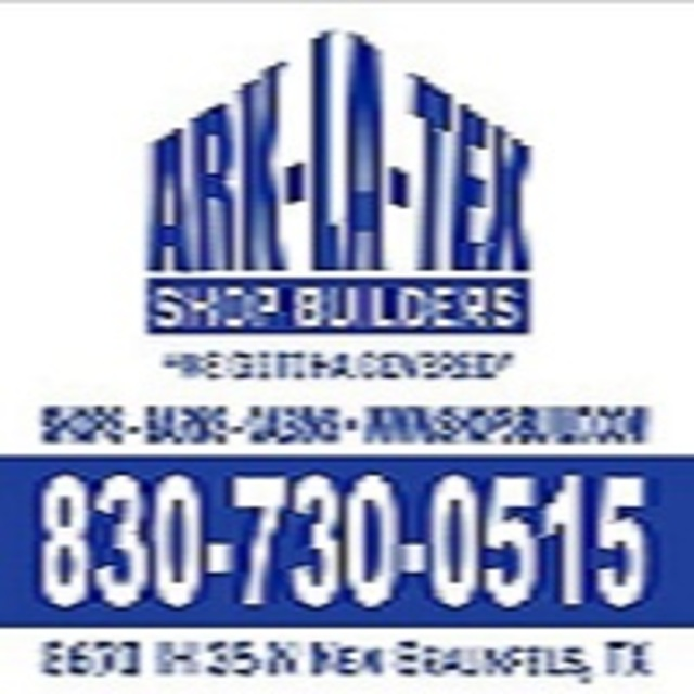 Ark-La-Tex Shop Builders of Texas, New Braunfels, TX logo