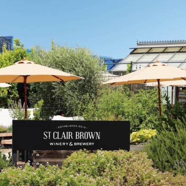 St. Clair Brown Winery & Brewery, Napa, CA logo
